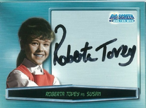 Doctor Who Big Screen -  A1 Roberta Tovey as Susan Trading Card -  10661